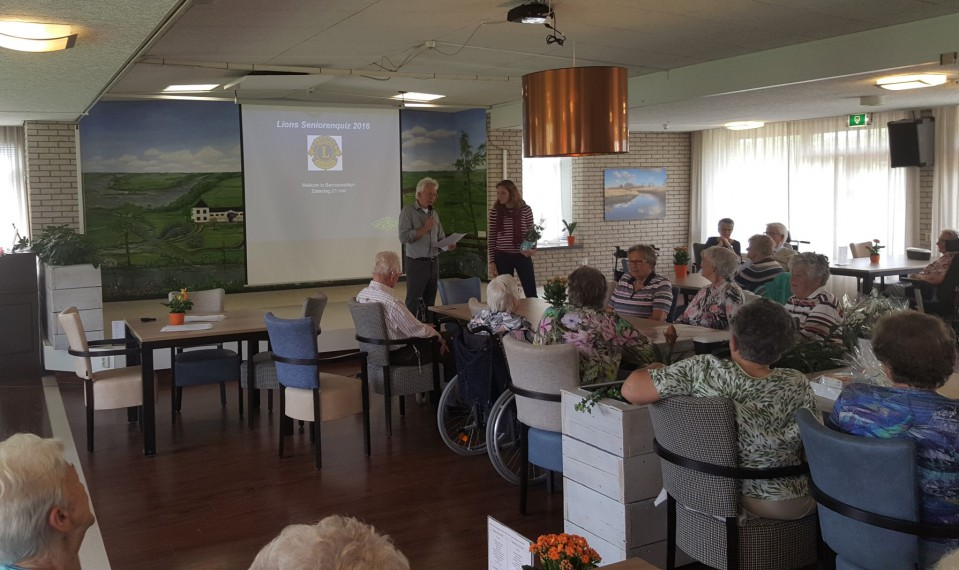 Seniorenquiz in Bernissesteyn